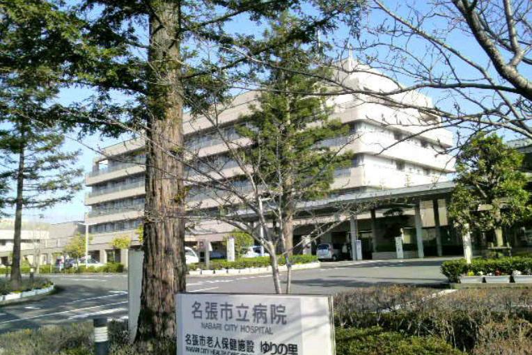 名張市立病院の外観