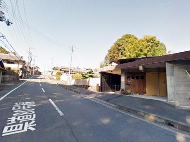 野村医院・県道80号線からの外観