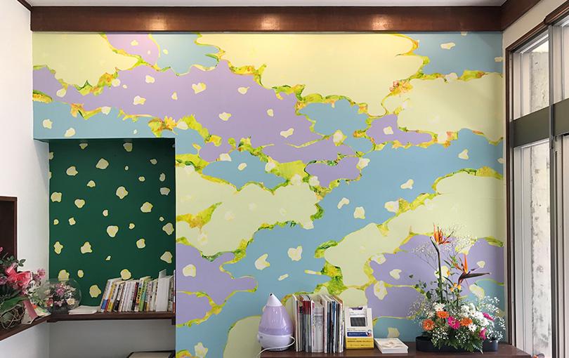 壁画『百年の山河』がある診療所 – 野村医院・ドクターG&腎|山添村の総合内科&腎臓内科